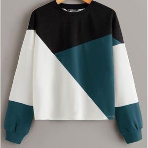 Geoblock sweatshirt
